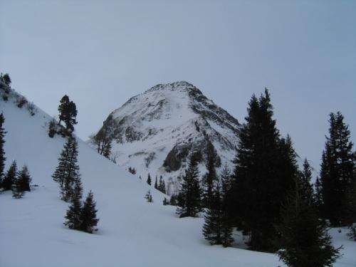 Foto: Christian Suschegg / Ski Tour / Laubtaleck (2230m) / Der Alker ist heute meistens im Blickfeld / 04.01.2007 17:59:29