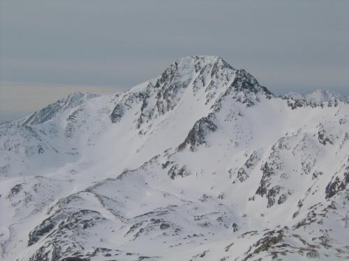 Foto: Christian Suschegg / Ski Tour / Laubtaleck (2230m) / Die Schoberspitze im Süden / 04.01.2007 18:00:31
