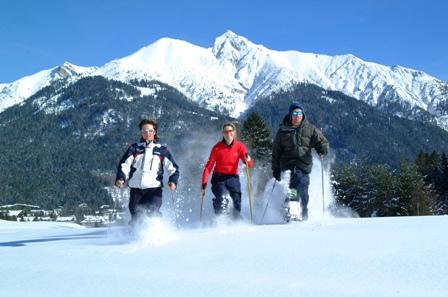 Foto: Bernadette Stauder / Schneeschuh Tour / Wintererlebniswanderung in der Olympiaregion Seefeld / 05.01.2007 15:42:34