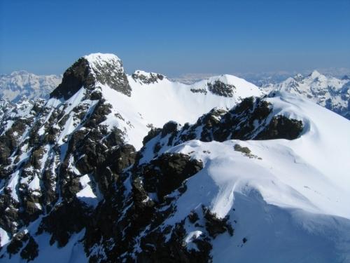 Foto: Christian Suschegg / Ski Tour / Vom Obertal auf den Zwerfenberg (2642m) / Blick vom Zwerfenberg nach Norden zum Elendberg. / 05.01.2007 14:55:04