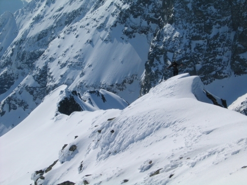 Foto: Christian Suschegg / Ski Tour / Vom Obertal auf den Zwerfenberg (2642m) / So manch