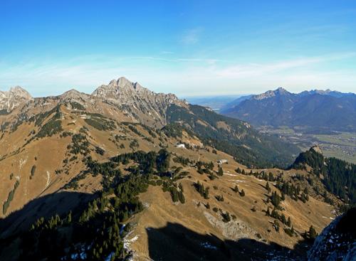 Foto: vince 51 / Wander Tour / Von Gaicht auf die Gaichtspitze / Gehrenspitze und Reuttener Bergbahn / 06.01.2007 22:01:05