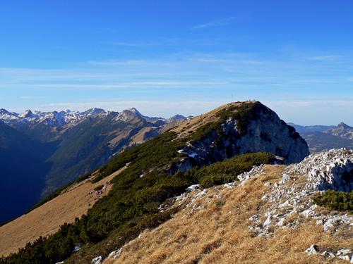 Foto: vince 51 / Wander Tour / Von Gaicht auf die Gaichtspitze / Gipfel Gaichtspitze / 06.01.2007 22:03:51