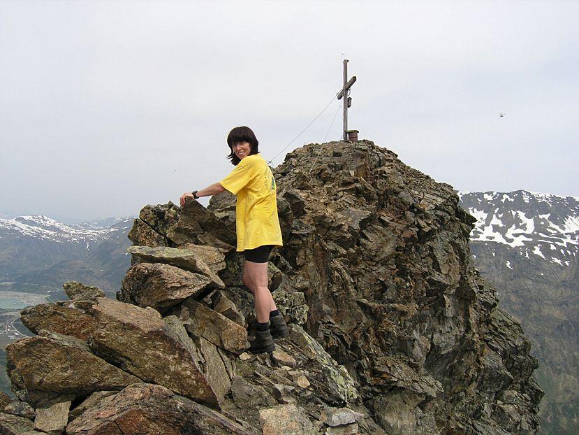 Foto: Benedik Herbert / Wander Tour / Gorfenspitze - Hausberg von Galtür / ....fast am Gipfel / 07.01.2007 17:27:45