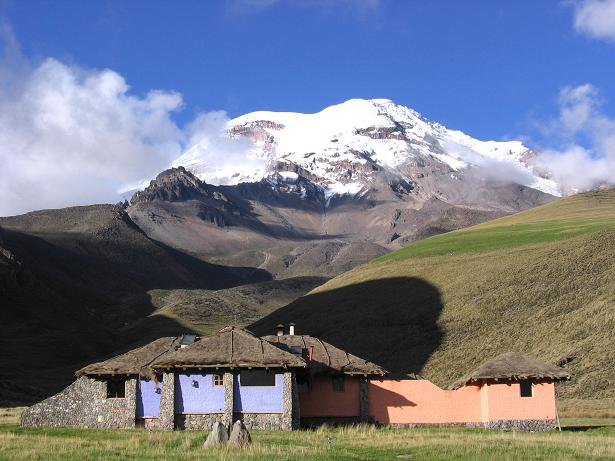 Foto: Andreas Koller / Wander Tour / Chimborazo - König der Anden Ecuadors (6310 m) / Das Chimborazo Basecamp von Marco Cruz (Haupthaus) / 10.01.2007 03:08:49