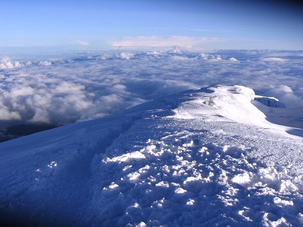 Foto: Andreas Koller / Wander Tour / Chimborazo - König der Anden Ecuadors (6310 m) / Die letzten mühsamen Meter auf den Chimborazo-Gipfel / 10.01.2007 03:06:11