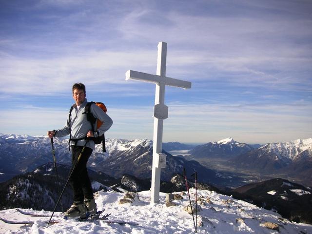 Foto: Salzprinz / Skitour / Über die Ausseer Sandlingalm auf den Sandling / Sandling-Gipfel 1717 m / 09.01.2007 22:56:24