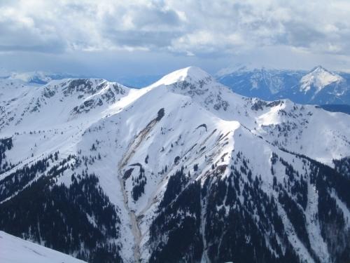 Foto: Christian Suschegg / Skitour / Über das Steinkar auf den Hochgrößen (2115m) / Ausblick - 2 / 10.01.2007 13:03:04