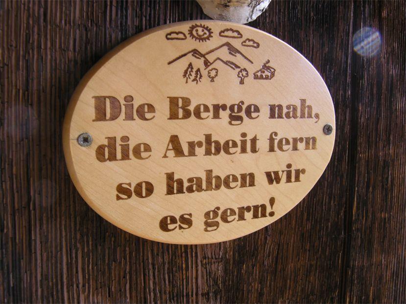 Foto: Benedik Herbert / Wander Tour / Käferwandl - ein etwas versteckter Gipfel / unser Spruch / 10.01.2007 19:45:29