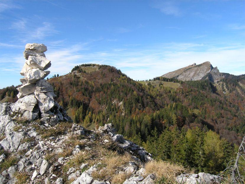 Foto: Benedik Herbert / Wander Tour / Käferwandl - ein etwas versteckter Gipfel / schöner Rundblick / 10.01.2007 19:48:21