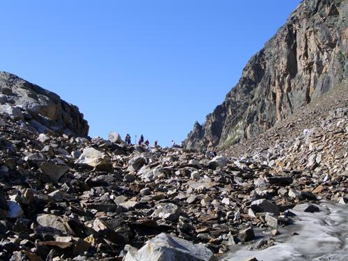 Foto: vince 51 / Wander Tour / Von der Bielerhöhe auf das Hohe Rad / Radsschulter fast erreicht / 12.01.2007 23:29:37