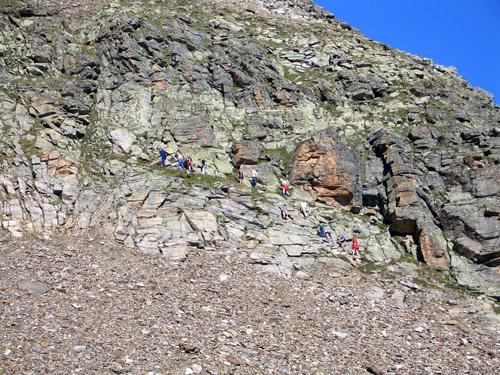 Foto: vince 51 / Wander Tour / Von der Bielerhöhe auf das Hohe Rad / Beginn des Gipfelsteigs / 12.01.2007 23:30:24