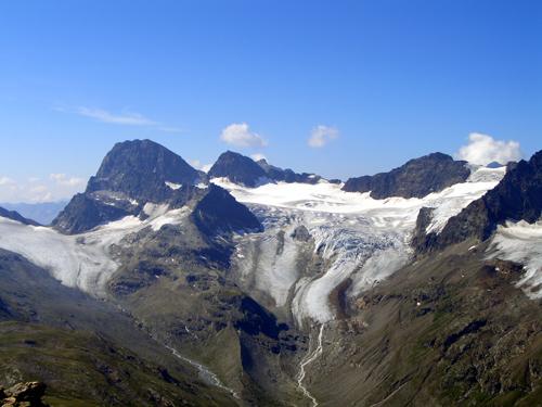 Foto: vince 51 / Wander Tour / Von der Bielerhöhe auf das Hohe Rad / Piz Buin und Ochsentaler Gletscher / 12.01.2007 23:32:15