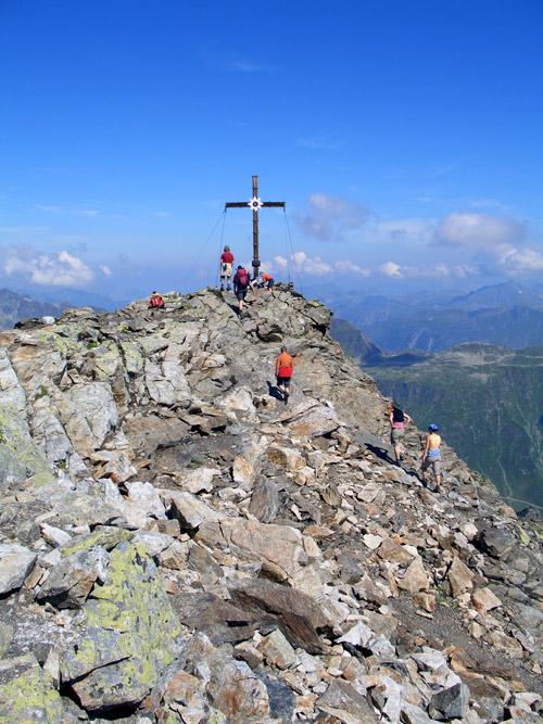 Foto: vince 51 / Wandertour / Von der Bielerhöhe auf das Hohe Rad / Gipfel 2934 m / 12.01.2007 23:31:19