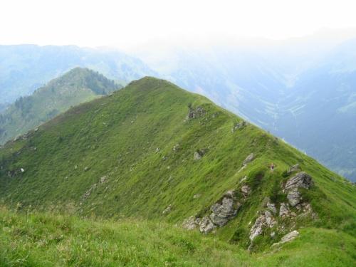 Foto: Christian Suschegg / Wander Tour / Finsterkarsee - Finsterkarspitz / Beim Abstieg vom Finsterkarspitz. Ein kurzes Stück am Grat entlang. / 19.01.2007 13:06:33