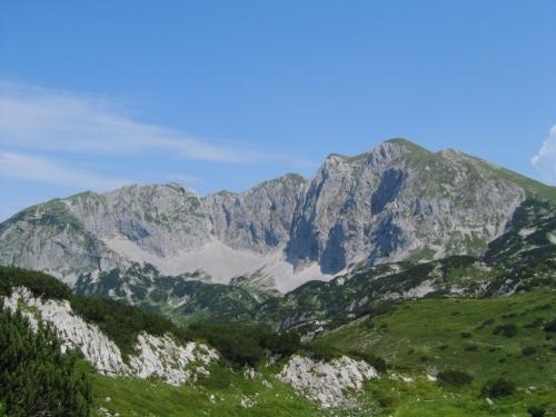 Foto: Christian Suschegg / Wander Tour / Edelweißkogel - Fritzerkogel - Bleikogel / Blick nach Osten zu Tagweide (links) und Hochkarfelderkopf (rechts). / 20.01.2007 16:34:39