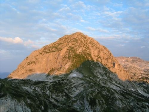Foto: Christian Suschegg / Wander Tour / Edelweißkogel - Fritzerkogel - Bleikogel / Blick vom Edelweißkogel zum Fritzerkogel. / 20.01.2007 16:39:39