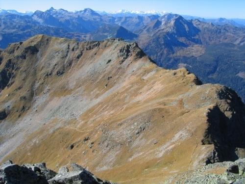 Foto: Christian Suschegg / Wander Tour / Seekarspitze - Hundskogel / Das Aufstiegstiegsgelände an den Osthängen von Seekareck und Seekarschneid. / 20.01.2007 18:26:17