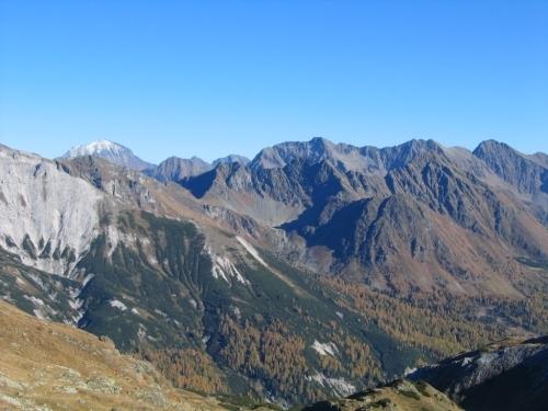 Foto: Christian Suschegg / Wander Tour / Seekarspitze - Hundskogel / Blick nach Osten. Im Hintergrund der Hochgolling. / 20.01.2007 18:23:53
