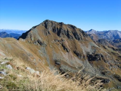 Foto: Christian Suschegg / Wander Tour / Seekarspitze - Hundskogel / Alternativer Grataufstieg über das Seekareck und die Seekarschneid. Blick zur Seekarspitze. / 20.01.2007 18:29:49