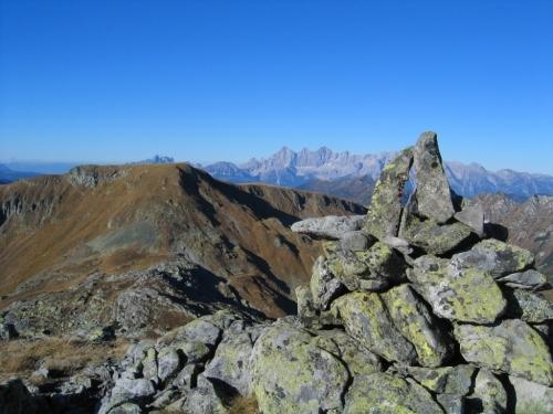 Foto: Christian Suschegg / Wander Tour / Seekarspitze - Hundskogel / Blick nach Norden über die Sonntagkarhöhe zum Dachstein. / 20.01.2007 18:21:23
