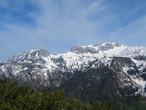 Foto: Christian Suschegg / Wander Tour / Überschreitung von Gwöhnlistein und Hechlstein / Blick vom Gwöhnlistein nach Norden zu Traweng, Sturzhahn und den Tragln. / 21.01.2007 11:43:30