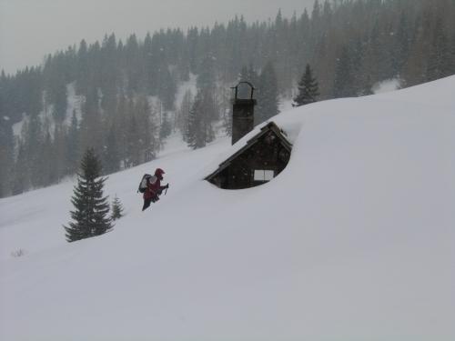 Foto: Christian Suschegg / Schneeschuhtour / Storingalm - Feldl / Wo sind die Hütten der Storingalm geblieben ? / 21.01.2007 12:29:35