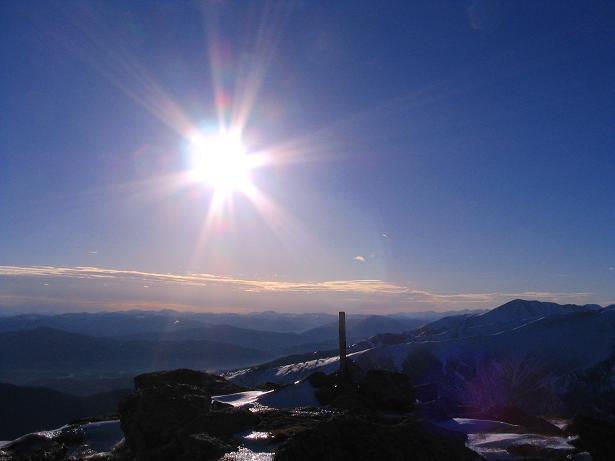 Foto: Andreas Koller / Wander Tour / Drei-Gipfel-Tour aus dem Schöttelgraben (2260 m) / Blick vom Steineck nach SW / 22.01.2007 03:18:59