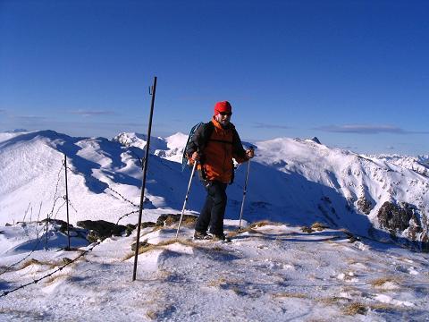Foto: Andreas Koller / Wander Tour / Drei-Gipfel-Tour aus dem Schöttelgraben (2260 m) / Die letzten Meter auf den Kilnprein-Gipfel / 22.01.2007 03:18:53