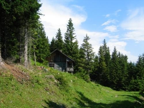 Foto: Christian Suschegg / Wander Tour / Krautschwellereck (1959m) / Einfacher Aufstieg auf Forststraßen bis zu einem Jagdhaus.  Danach wird der Weg anspruchsvoller. / 22.01.2007 11:54:49