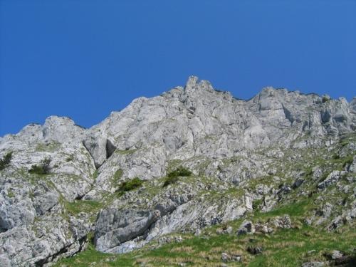 Foto: Christian Suschegg / Wander Tour / Krautschwellereck (1959m) / Mit zunehmender Höhe wird das Gelände felsiger. / 22.01.2007 11:56:29