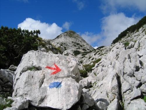 Foto: Christian Suschegg / Wander Tour / Vom Loser auf Rinnerkogel und Redenden Stein / Unterwegs im Karstgelände südlich des Rinnerkogel. / 22.01.2007 15:43:01