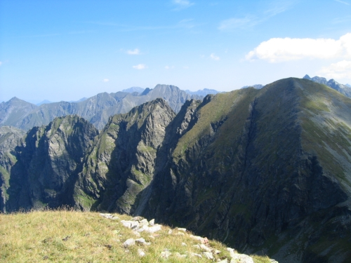 Foto: Christian Suschegg / Wander Tour / Über den Schwarzensee auf Schöneck und Hasenhöhe / Eindrucksvolle Felsrippen. / 22.01.2007 17:43:57
