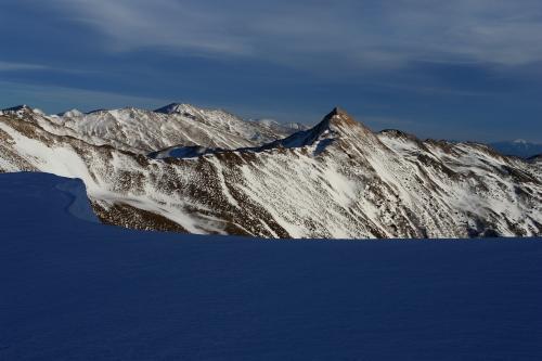 Foto: Christian Suschegg / Ski Tour / Schattnerzinken (2156m) / Der markante Regenkarspitz im Südosten. / 23.01.2007 10:18:14