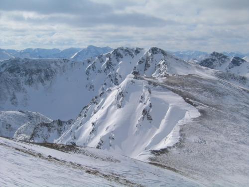 Foto: Christian Suschegg / Ski Tour / Schattnerzinken (2156m) / Blick vom Hochschwung zum Schattnerzinken. / 23.01.2007 10:16:17