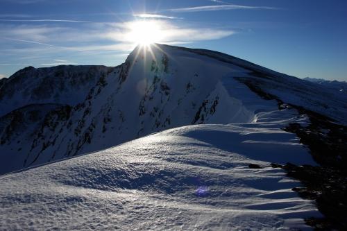 Foto: Christian Suschegg / Ski Tour / Schattnerzinken (2156m) / Die letzten Höhenmeter auf den Schattnerzinken. / 23.01.2007 10:26:46