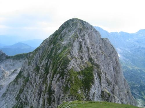 Foto: Christian Suschegg / Wander Tour / Über den Scharfen Steig und die Laufener Hütte auf Tagweide und Hochkarfelderkopf / Über den Nordost-Rücken auf den Hochkarfelderkopf. / 24.01.2007 09:57:58