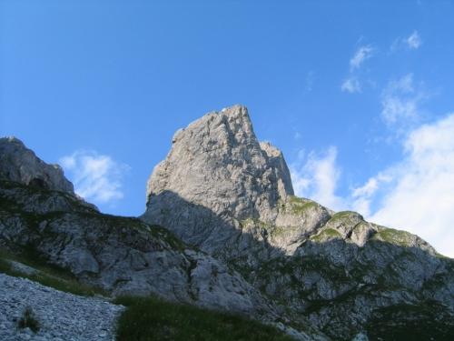 Foto: Christian Suschegg / Wander Tour / Über den Scharfen Steig und die Laufener Hütte auf Tagweide und Hochkarfelderkopf / Am
