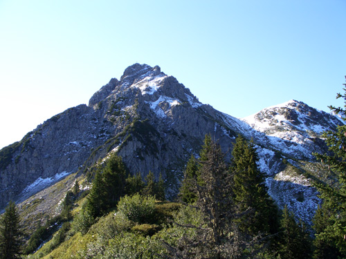 Foto: vince 51 / Wander Tour / Von Grabs auf die Tschaggunser Mittagsspitze (2168m) / Tschaggunser Mittagsspitze von NW / 26.01.2007 21:53:25