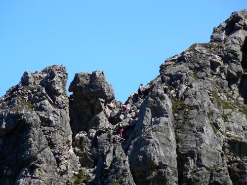Foto: vince 51 / Wander Tour / Von Grabs auf die Tschaggunser Mittagsspitze (2168m) / Etwas Kletterei gefällig? / 26.01.2007 21:52:26
