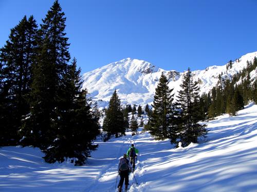 Foto: vince 51 / Schneeschuh Tour / Mit Schneeschuhen auf den Ochsenälpeleskopf (1905m) / 27.01.2007 23:27:04
