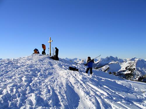 Foto: vince 51 / Schneeschuh Tour / Mit Schneeschuhen auf den Ochsenälpeleskopf (1905m) / 27.01.2007 23:25:37