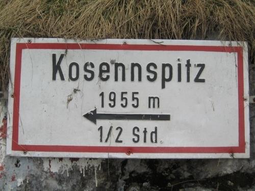 Foto: Christian Suschegg / Wander Tour / 3-Gipfel-Runde am Hochangernstock: Kosennspitz - Angerkogel - Nazogl / Bei der Weggabelung Kosennspitz - Nazogl. / 29.01.2007 20:30:07