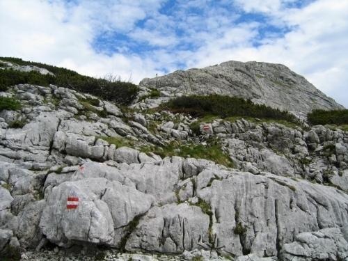 Foto: Christian Suschegg / Wander Tour / 3-Gipfel-Runde am Hochangernstock: Kosennspitz - Angerkogel - Nazogl / Unterwegs im Karstgelände. / 29.01.2007 20:33:17