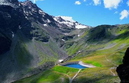 Foto: Andreas Koller / Wander Tour / Auf die Gargellner Köpfe (2482m) / Seen im Wandergebiet Schafberg, die von der ganzen Familie leicht zu erreichen sind. / 01.02.2007 02:04:49