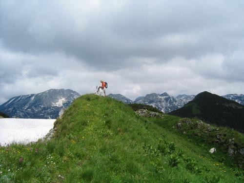 Foto: Christian Suschegg / Wander Tour / Greimuth (1871m) - Atterkogel (1826m) / Am Greimuth - rechts hinten der nahe Bräuningzinken. / 03.02.2007 12:48:19