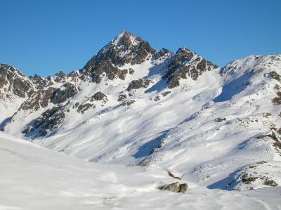 Foto: Eva-Maria Jordan / Wandertour / Hochtristen (2536m) / Die Hochtristen - im Sommer wie im Winter eine Tour wert! / 05.02.2007 16:19:48