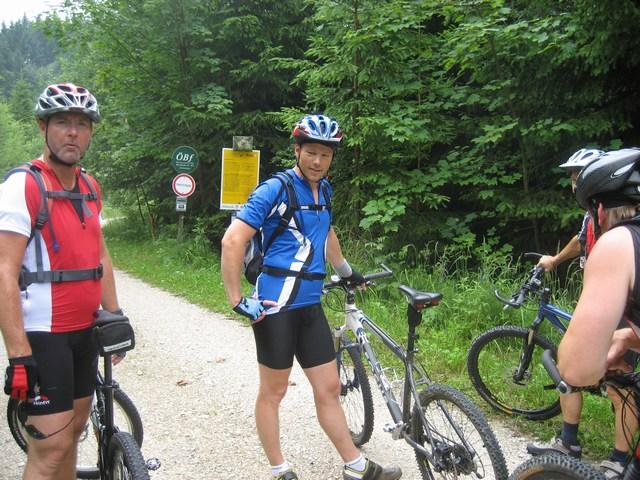 Foto: Jürgen Lindlbauer / Mountainbike Tour / Große Runde von Neukirchen über Hochkreut zu den Langbathseen / 01.08.2007 11:16:51