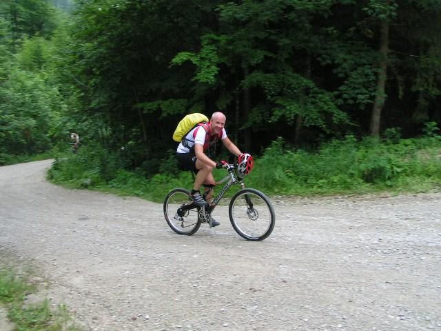 Foto: Jürgen Lindlbauer / Mountainbike Tour / Große Runde von Neukirchen über Hochkreut zu den Langbathseen / 01.08.2007 11:17:45