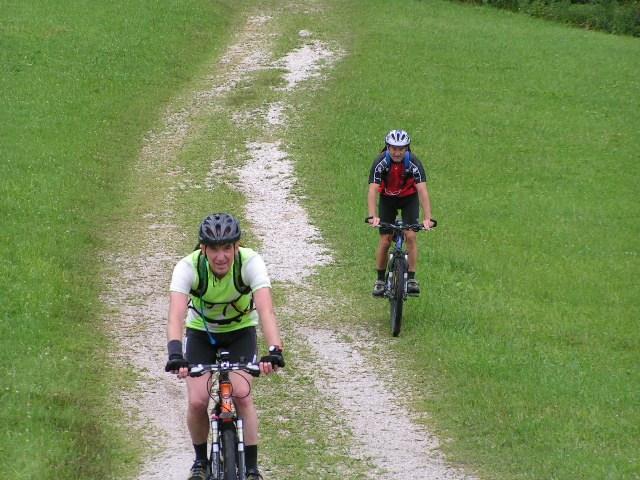 Foto: Jürgen Lindlbauer / Mountainbike Tour / Große Runde von Neukirchen über Hochkreut zu den Langbathseen / 01.08.2007 11:19:29